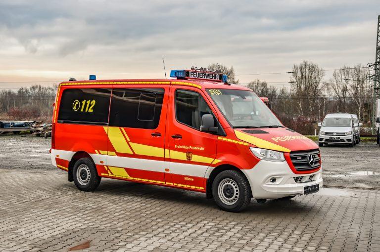 MTF auf Basis Sprinter Feuerwehr Mücke
